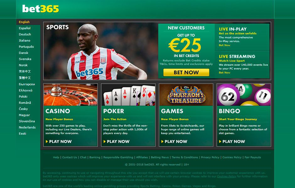 casino bet365 sports