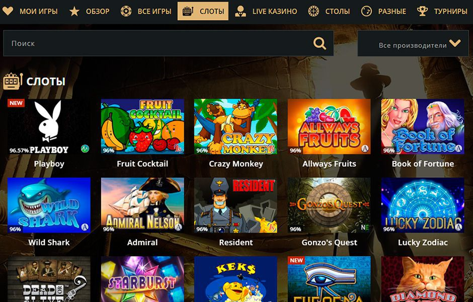 обзор riobet casino