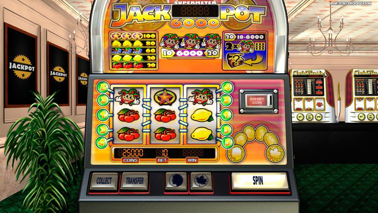 Игровой автомат Jackpot 6000: играть бесплатно без регистрации и ...