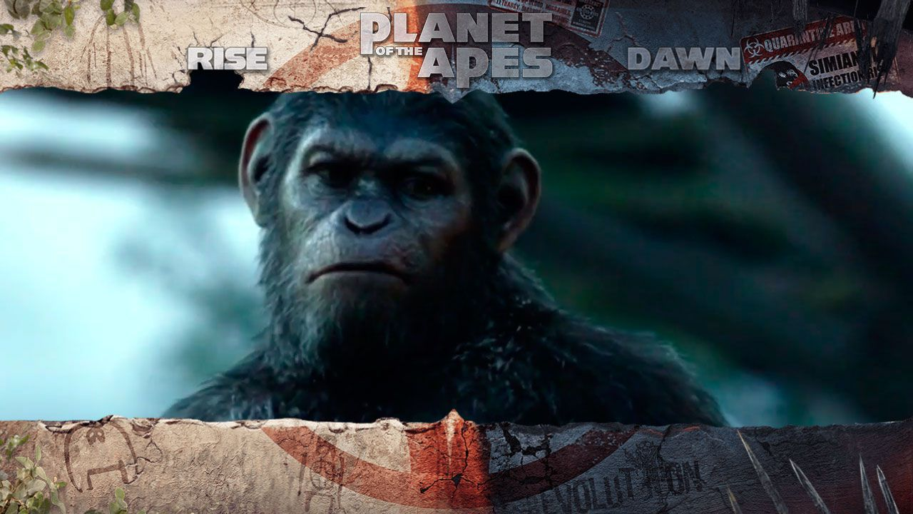 Интро Dawn Free Spins в слоте Planet of the Apes